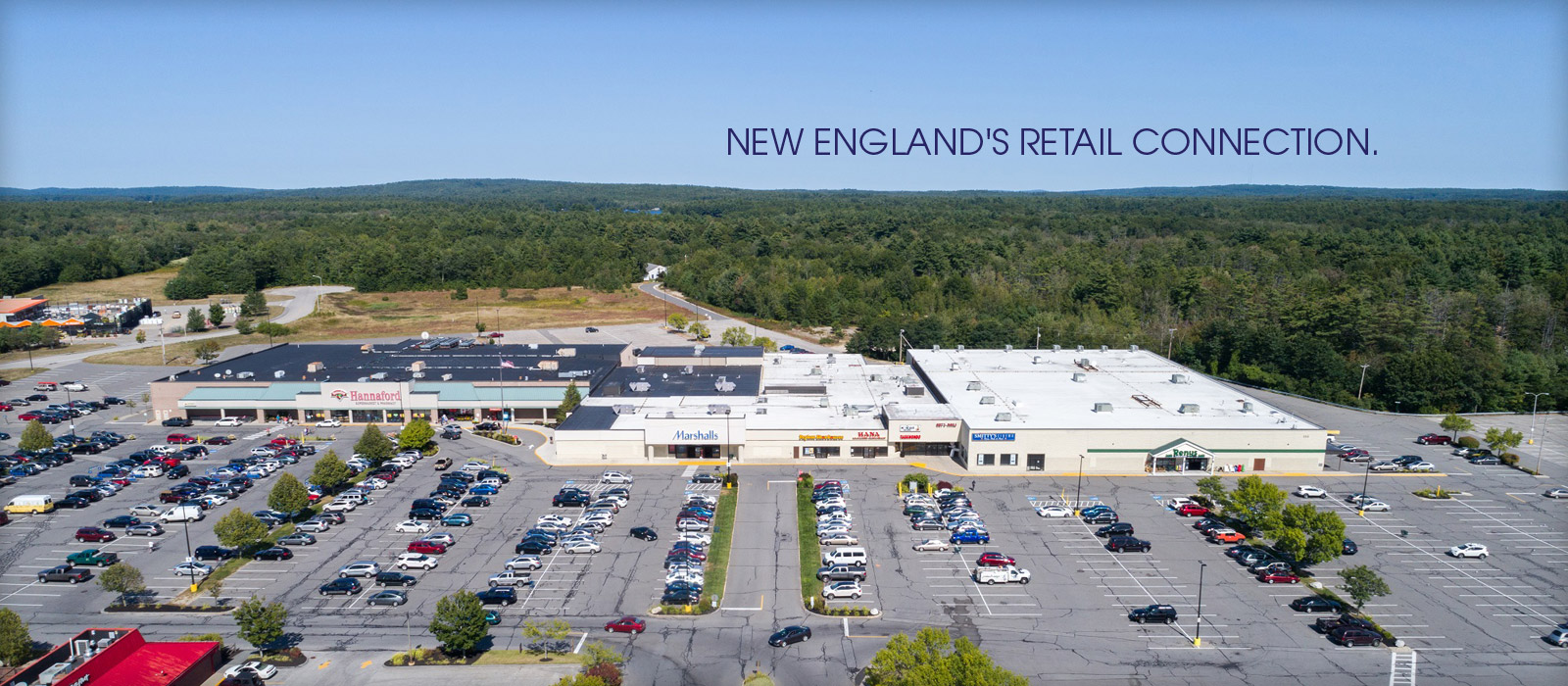 New England's retail connection.